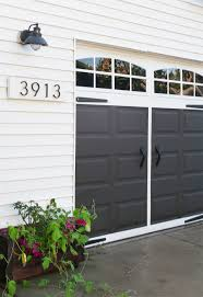 garage door house easy garage makeover