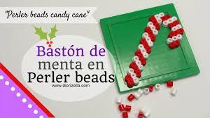 diy baston de menta perler beads candy cane diorizella events