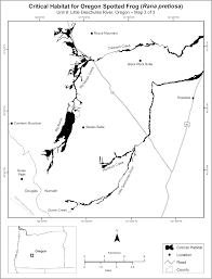Klamath Falls Oregon Map by Federal Register Endangered And Threatened Wildlife And Plants