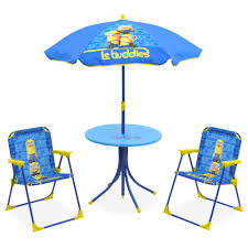Kids Patio Chairs by Kids Minion Patio Set Big W