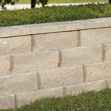 rockwall large 17 5 in x 7 in x 6 in pecan concrete retaining