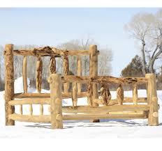 Wooden Log Beds Make Log Furniture Any Way You Like It Logfurniturehowto Com