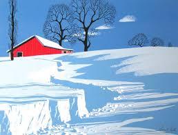 eyvind earle christmas cards eyvind earle so stark and crisp reminds me of winter mornings