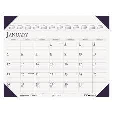 cool desk pad calendars house of doolittle executive monthly desk pad calendar 24 x 19 2018