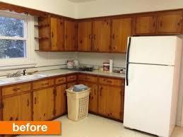 vintage kitchen cabinet makeover before after a 1950s kitchen gets a modern diy makeover