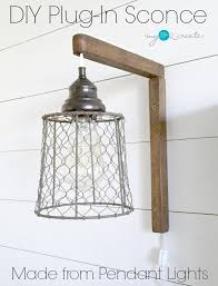 Make Your Own Pendant Light Fixture Best Of In Pendant Lights Diy In Sconces From Pendant