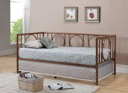 Modern Daybed With Trundle Furniture Kind Of Durable Daybed Frame U2014 Rebecca Albright Com