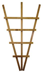 timber fan trellis panel h 1 1m w 0 61 m departments diy at b u0026q