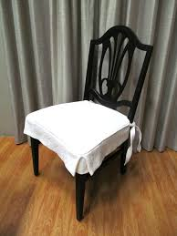 white slipcover dining chair slipcovers idea astounding dining chair seat slipcovers dining room