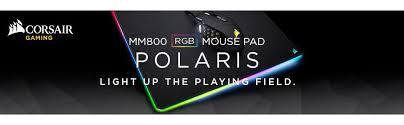 light up gaming mouse pad amazon com corsair mm800 polaris rgb mouse pad 15 rgb led zones