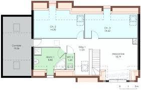 plan maison etage 3 chambres plan maison 3 chambres etage plan maison 3 chambres etage with plan