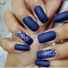 deadly claws gel nails nail art acrylic nails navy blue nails