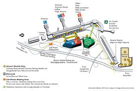 Washington Dc Airports Map Reagan National Airport Map And Roundtripticket Me
