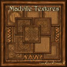 second marketplace madville textures carved ornamental
