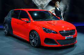 peugeot 308 r pictures and news from the frankfurt motor show evo