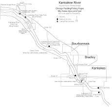 Indiana State Parks Map by Kankakee River Paddling Fishing