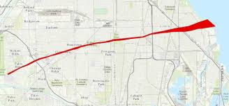 Green Line Chicago Map by 50 Years Since The 1967 Belvidere Lake Zurich And Oak Lawn Tornadoes