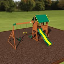 backyard discovery somerset wood swing set home outdoor decoration