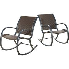 Wicker Outdoor Rocking Chairs Home Loft Concept Outdoor Furniture