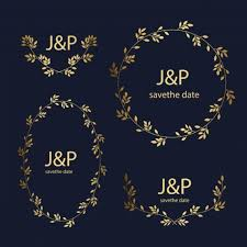 free vector golden wedding ornaments collection 6930 my graphic