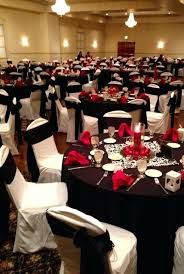 red and white table decorations for a wedding black and white decorations for wedding reception black and white