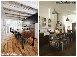 Bedrooms With Wood Floors by Industrial Style Kitchen Decor And Furniture Top Secrets