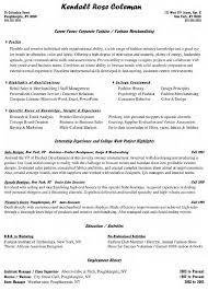 Resume For Management Position Sample Resume Supervisor Position Free Resume Example And
