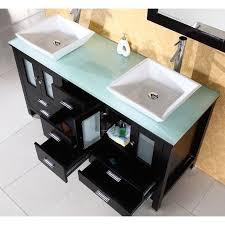 Espresso Vanity Bathroom Virtu Usa Md 4305g Bradford 60 Double Sink Bathroom Vanity In