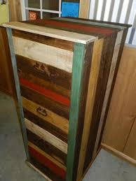 Rustic File Cabinet 259 Old West Heirloom Rough Cut Wood Twin Bed Rustic