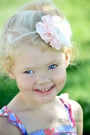 baby girl hair blush pink flower headband montana s marketplace