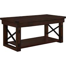 Dark Cherry Sofa Table by Better Homes And Gardens Preston Park Coffee Table Mahogany