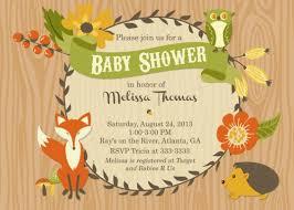 woodland creature baby shower woodland creatures baby shower invitations yourweek 5a8c73eca25e