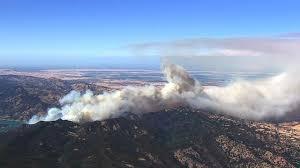 photos large fire burns south of lake berryessa kabc7 photos