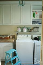 laundry room update chalk painted cabinets noble vintage