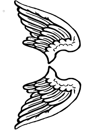 top soaring eagle clipart black and white library