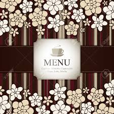 menu for restaurant cafe bar coffeehouse royalty free cliparts