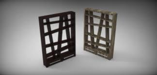 3d Bookshelf Bookshelf Angle Step Iges Stl Solidworks 3d Cad Model Grabcad