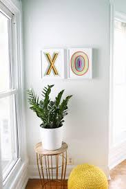 create colorful wall art with foam u2013 a beautiful mess