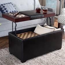 coffee table storage ottoman storage ottomans corbett coffee table