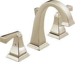 delta faucet 3551lf pn dryden two handle widespread bathroom