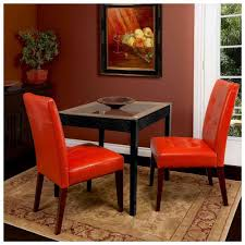 faux leather dining room chairs faux leather dining tablehairs brown roomhairovers set red browner