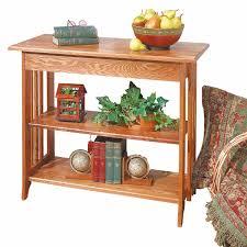 table unfinished oak bookshelf table kit