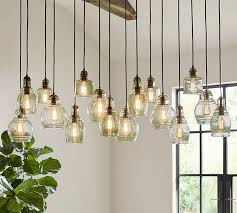 pottery barn light bulbs attractive pendant lights inside modern crystal bubble light with g4