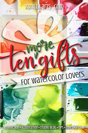 ten more gifts great gifts for watercolor presents