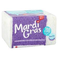 mardi gras napkins mardi gras napkins printed 200 count best paper towels napkins
