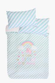 unicorn rainbow duvet cover set shop new in kids u0026 baby shop