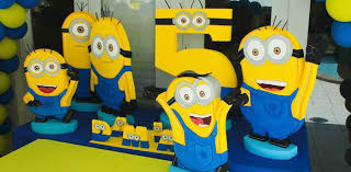 minion centerpieces kara s party ideas despicable me minion themed birthday party