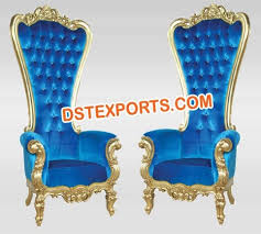 Indian Wedding Chairs For Bride And Groom Muslim Wedding Bride Groom Chairs Manufacturer U0026 Manufacturer From