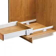 floor mounted drawer slides with metal sides drawers