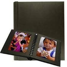 5x7 photo album professional parade black black slip in mat photo